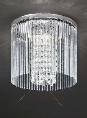 Franklite CF5724 Chrome Ceiling Light